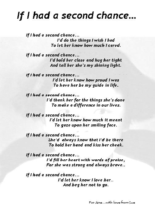 Missing Mother Poem http://www.care-givers.com/pages/spotlight/SueB.html